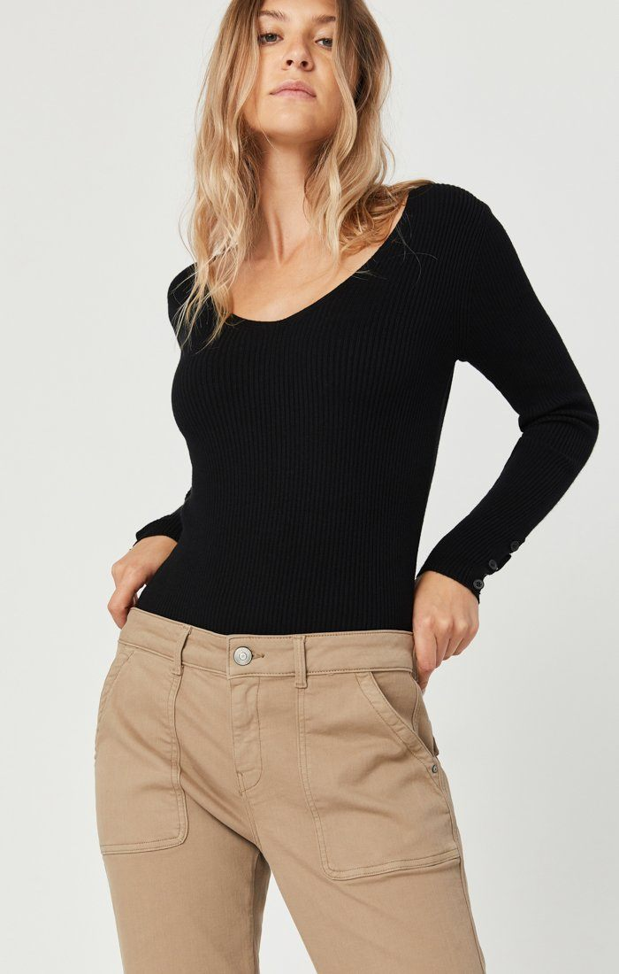 IVY SLIM CARGO PANTS IN CAPPUCCINO TWILL Image 3