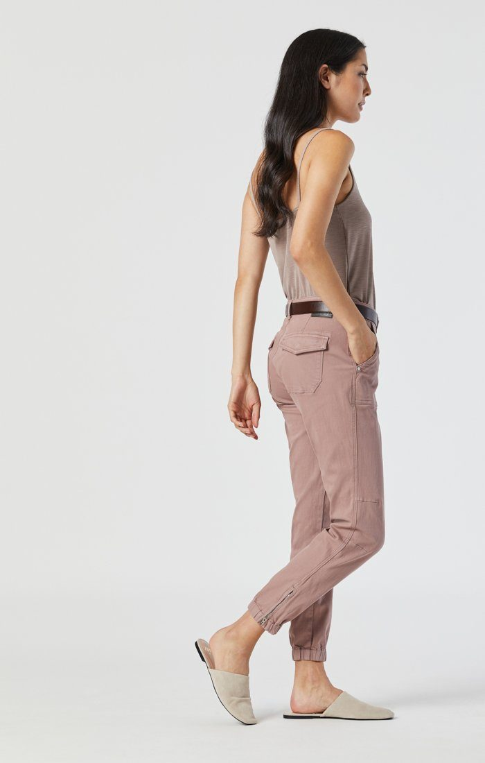 IVY SLIM CARGO IN ANTLER TWILL Image 2