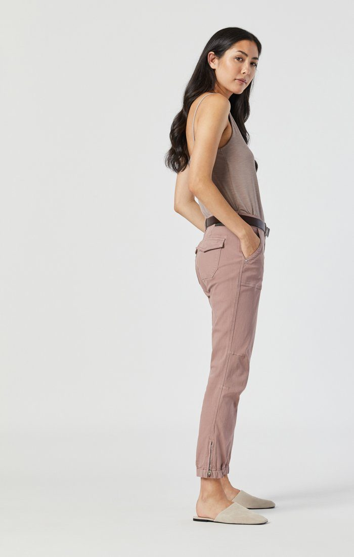 IVY SLIM CARGO IN ANTLER TWILL Image 3