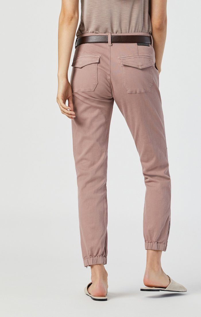 IVY SLIM CARGO IN ANTLER TWILL Image 4