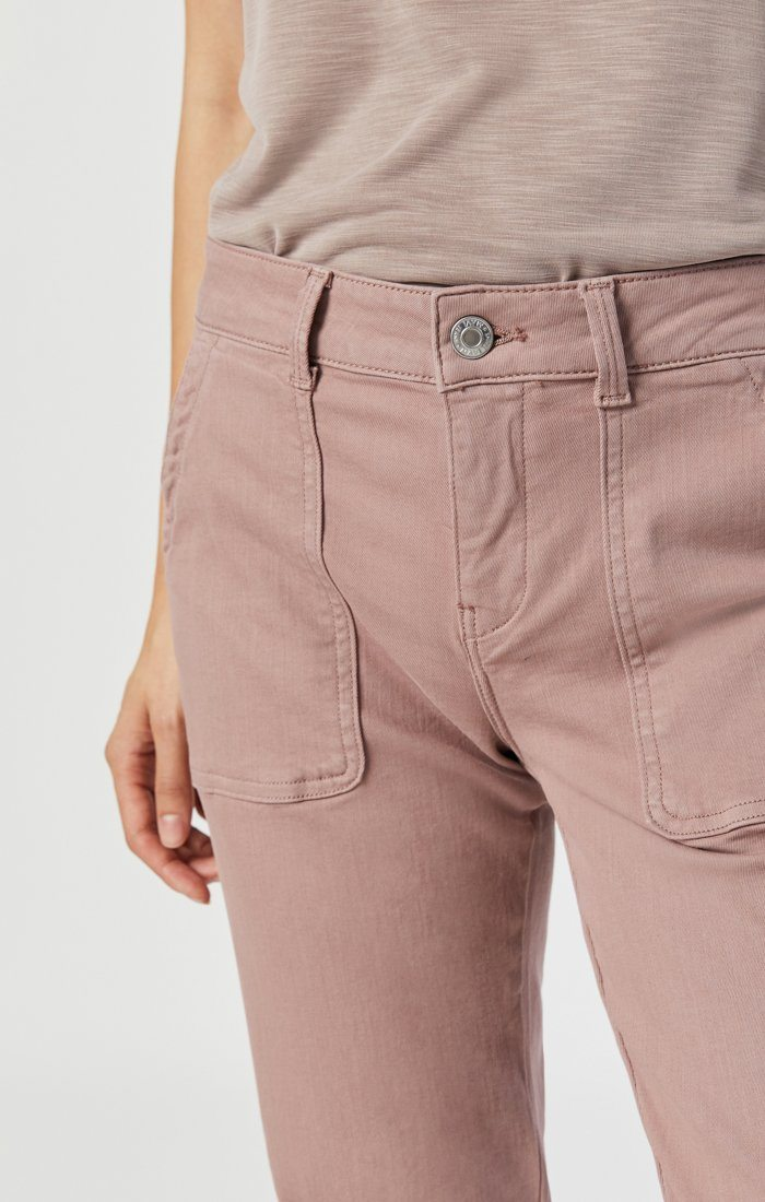 IVY SLIM CARGO IN ANTLER TWILL Image 5