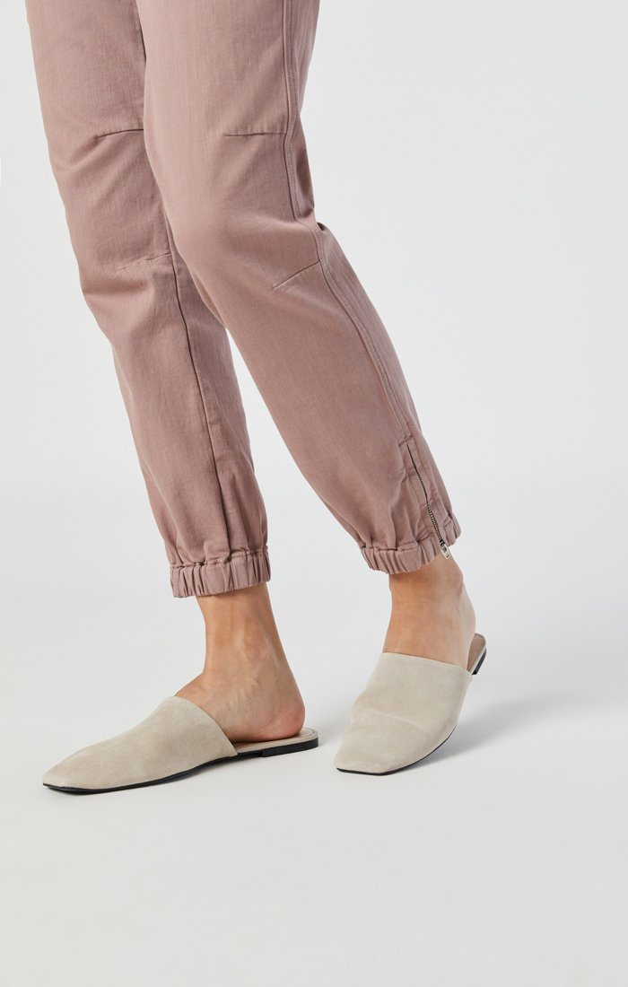 IVY SLIM CARGO IN ANTLER TWILL Image 8