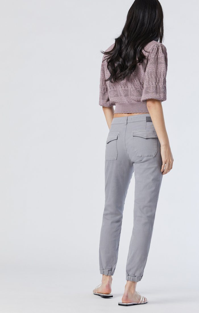 IVY SLIM CARGO IN MONUMENT TWILL Image 3