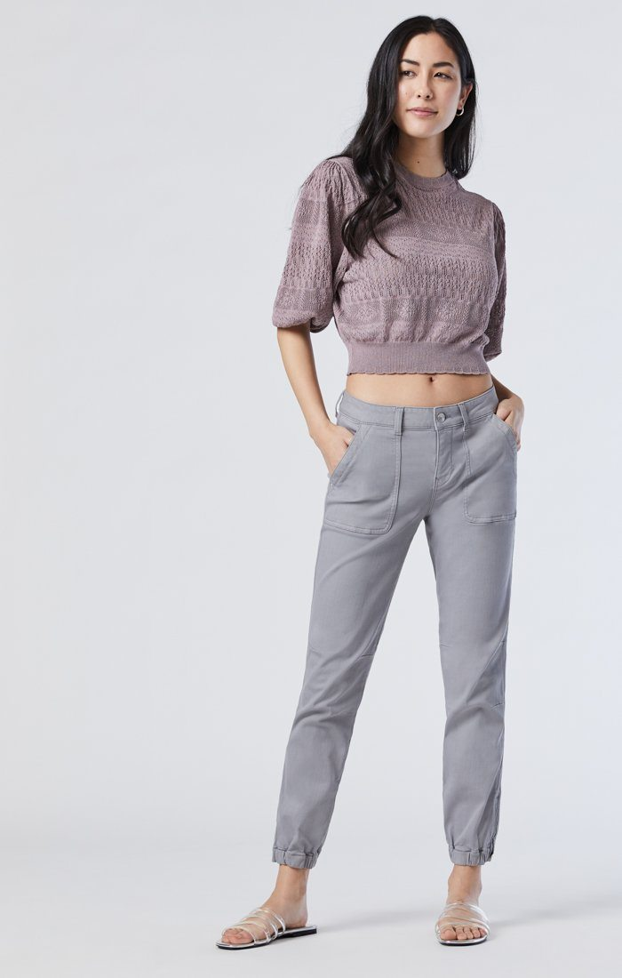 IVY SLIM CARGO IN MONUMENT TWILL Image 2