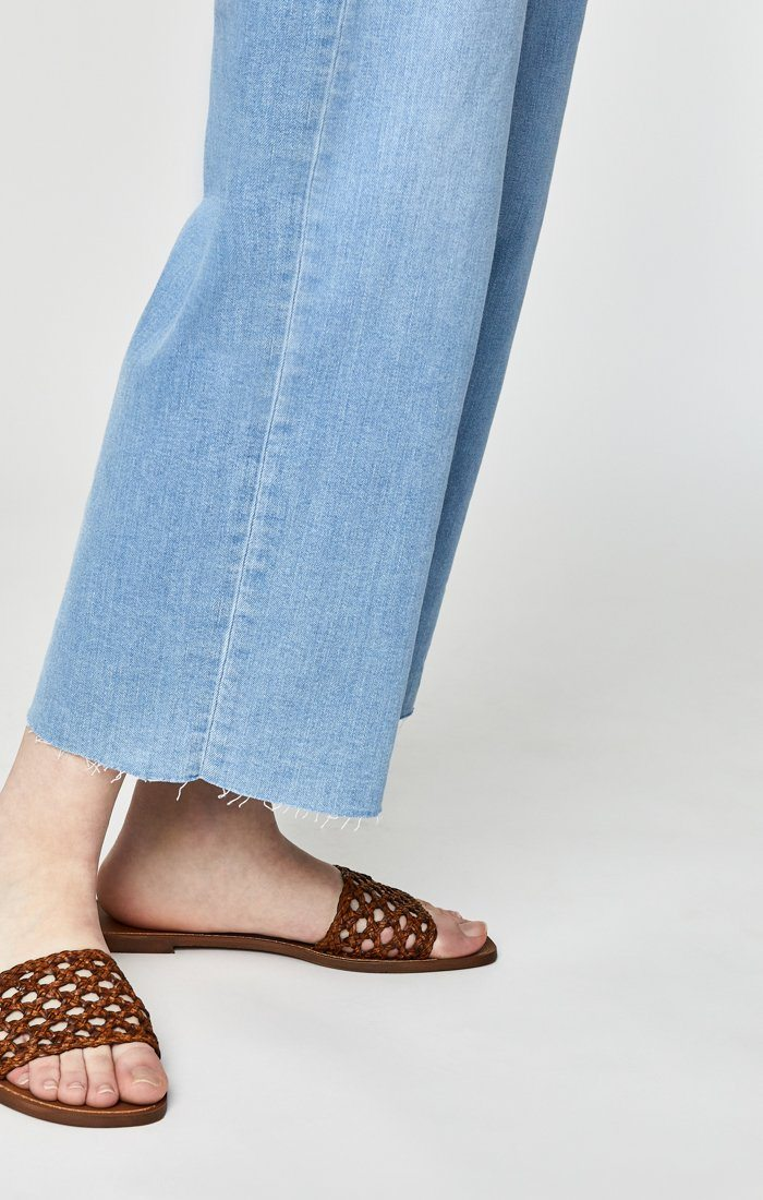 CRISTIN WIDE LEG IN BABY BLUE DENIM - Mavi Jeans