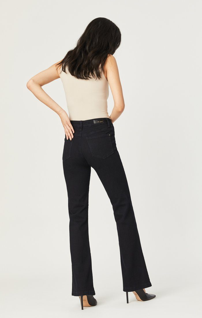 GLENDA FLARE IN INK GOLD ICON - Mavi Jeans