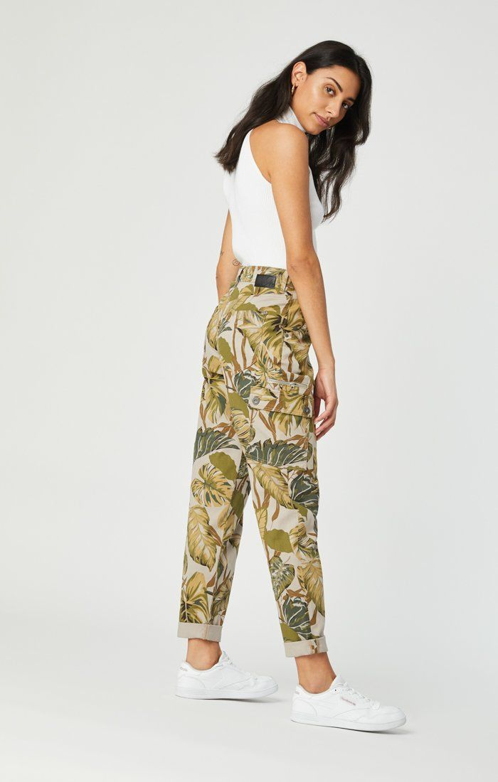 DENISE CARGO PANT IN SAFARI TWILL Image 2