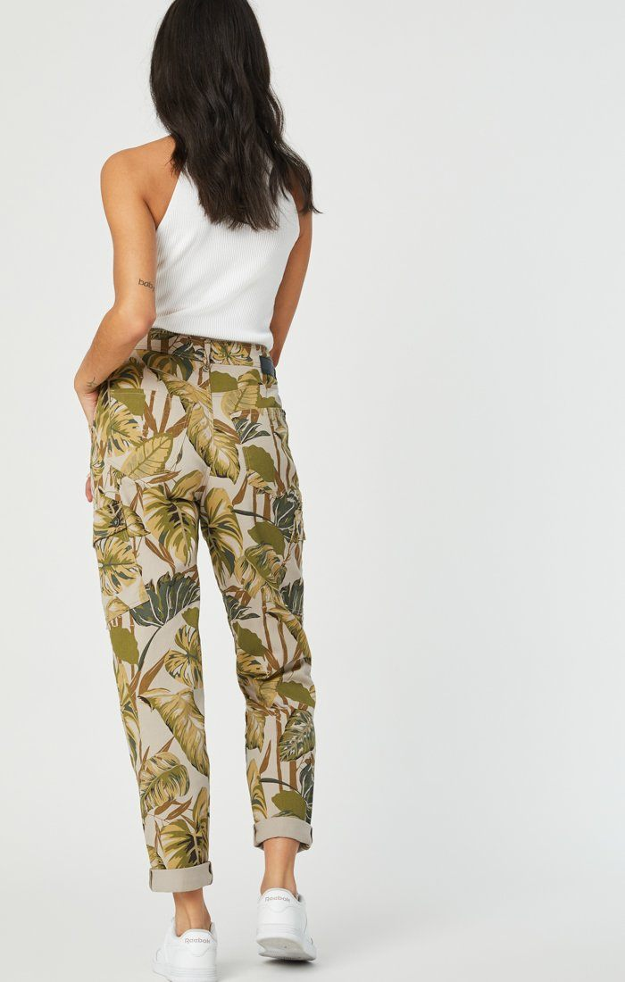 DENISE CARGO PANT IN SAFARI TWILL - Mavi Jeans