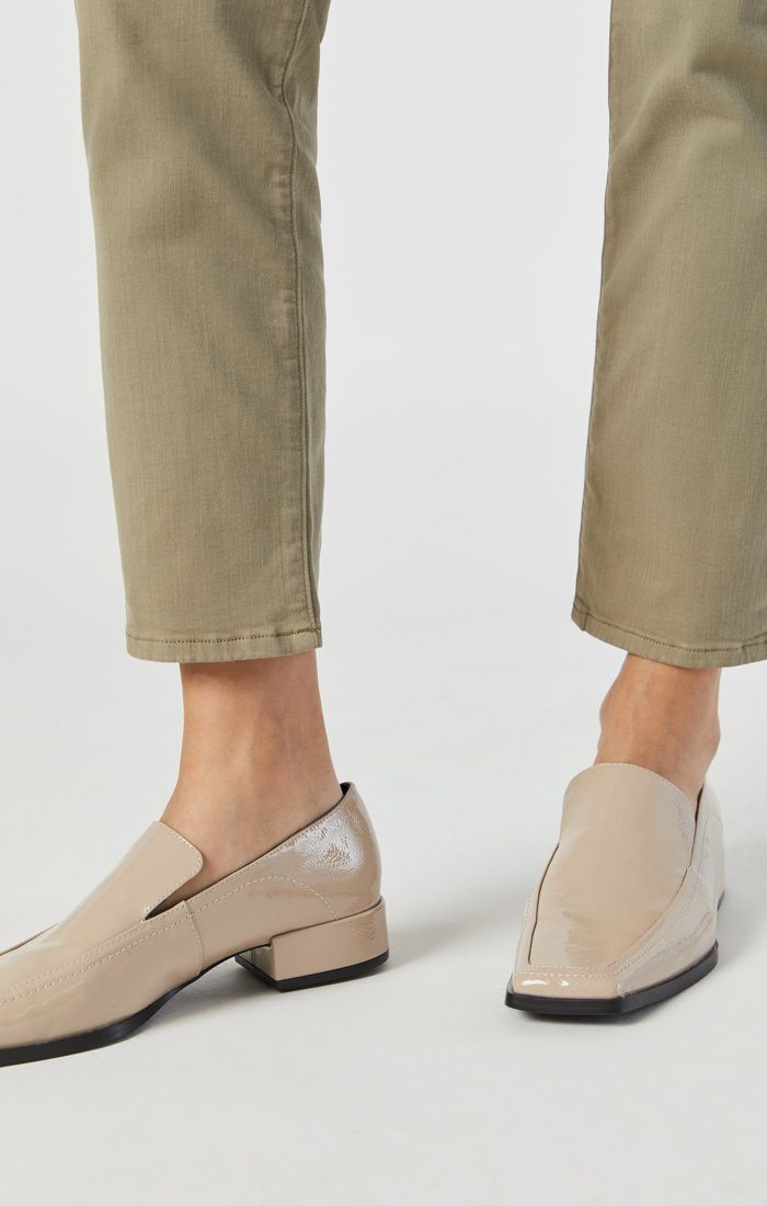 NORAH SLIM CHINO IN VETIVER TWILL Image 6