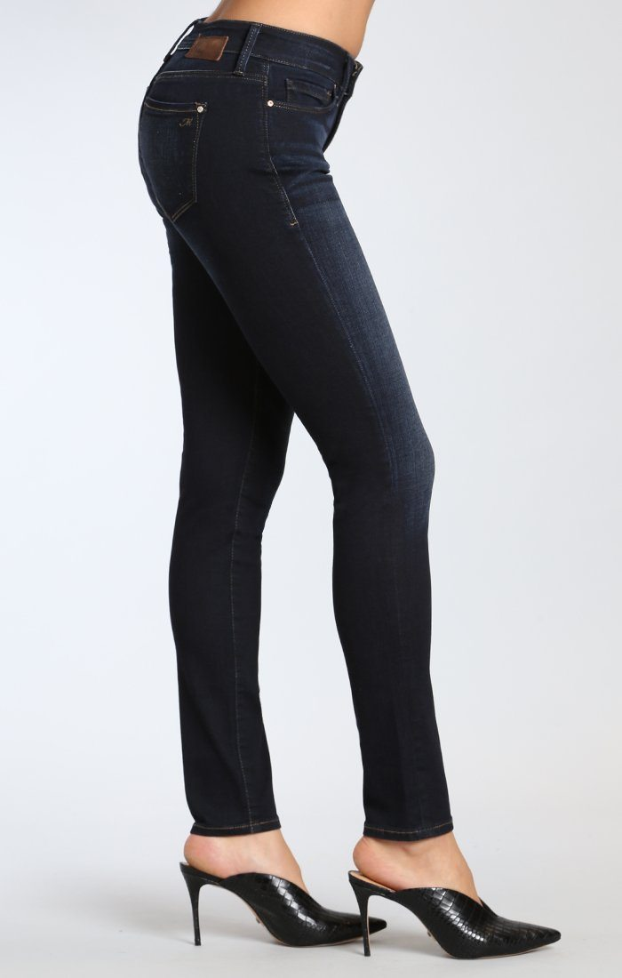 ALEXA SKINNY IN DEEP BRUSHED TRIBECA - Mavi Jeans