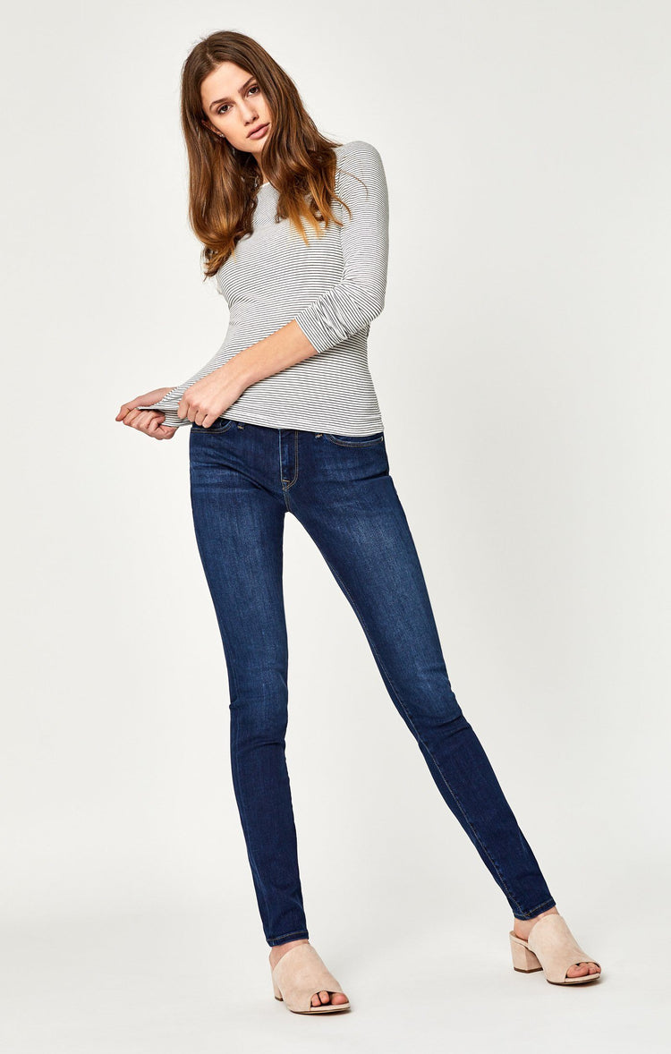 ALEXA SKINNY IN DARK SUPERSOFT