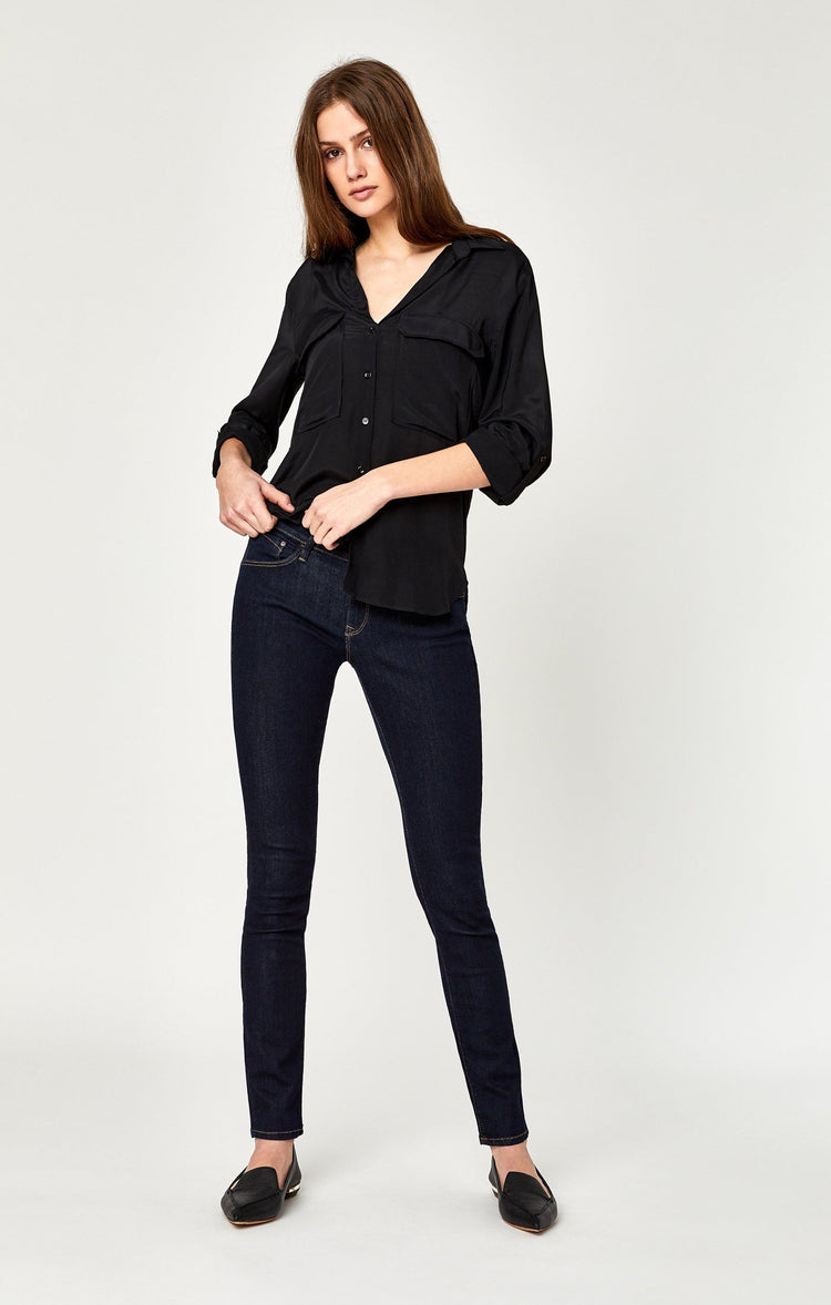 ALEXA SKINNY IN RINSE SUPERSOFT