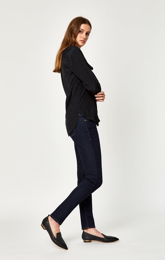 ALEXA SKINNY IN RINSE SUPERSOFT - Mavi Jeans