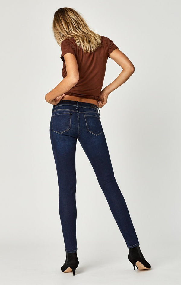 ALEXA SKINNY IN DEEP SOFT GOLD LUX MOVE - Mavi Jeans