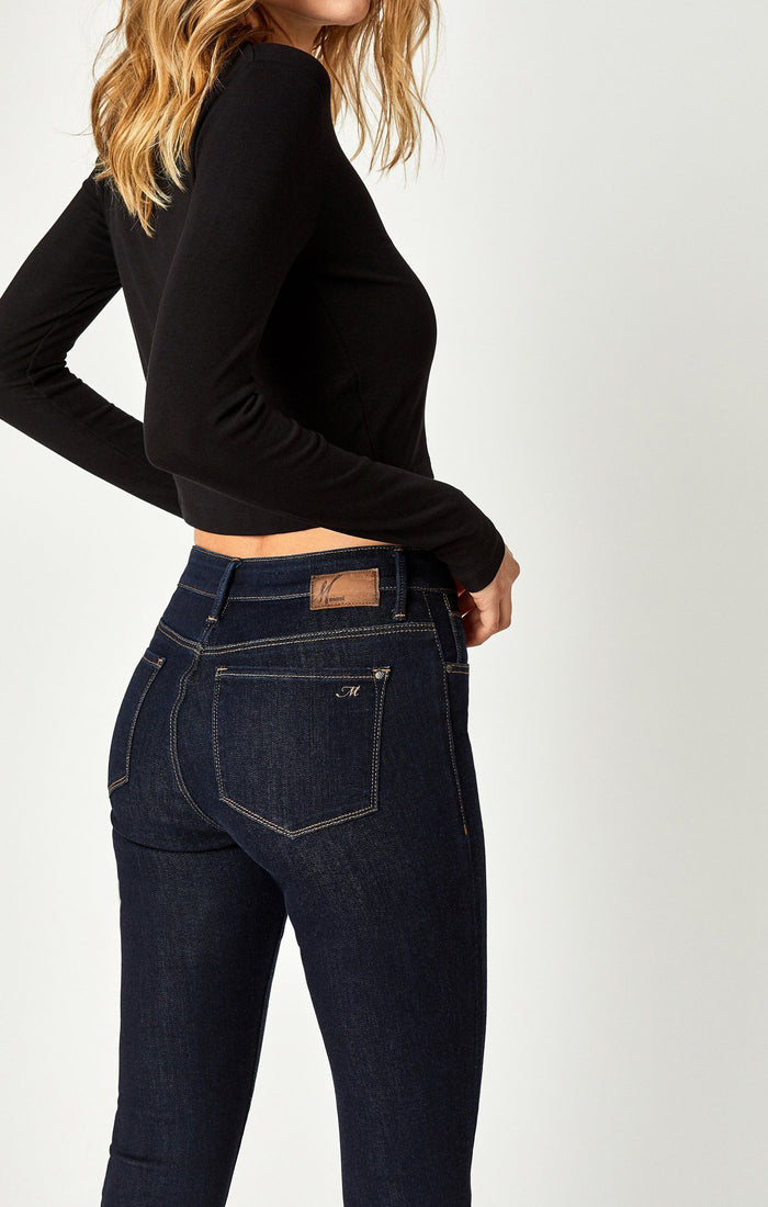 TESS SUPER SKINNY IN RINSE SUPERSOFT - Mavi Jeans