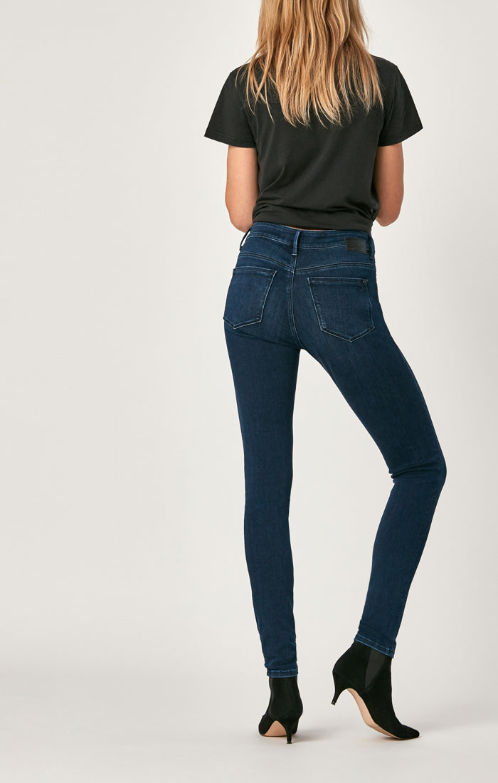 ALISSA SUPER SKINNY IN DARK MIDNIGHT SUPERSOFT - Mavi Jeans
