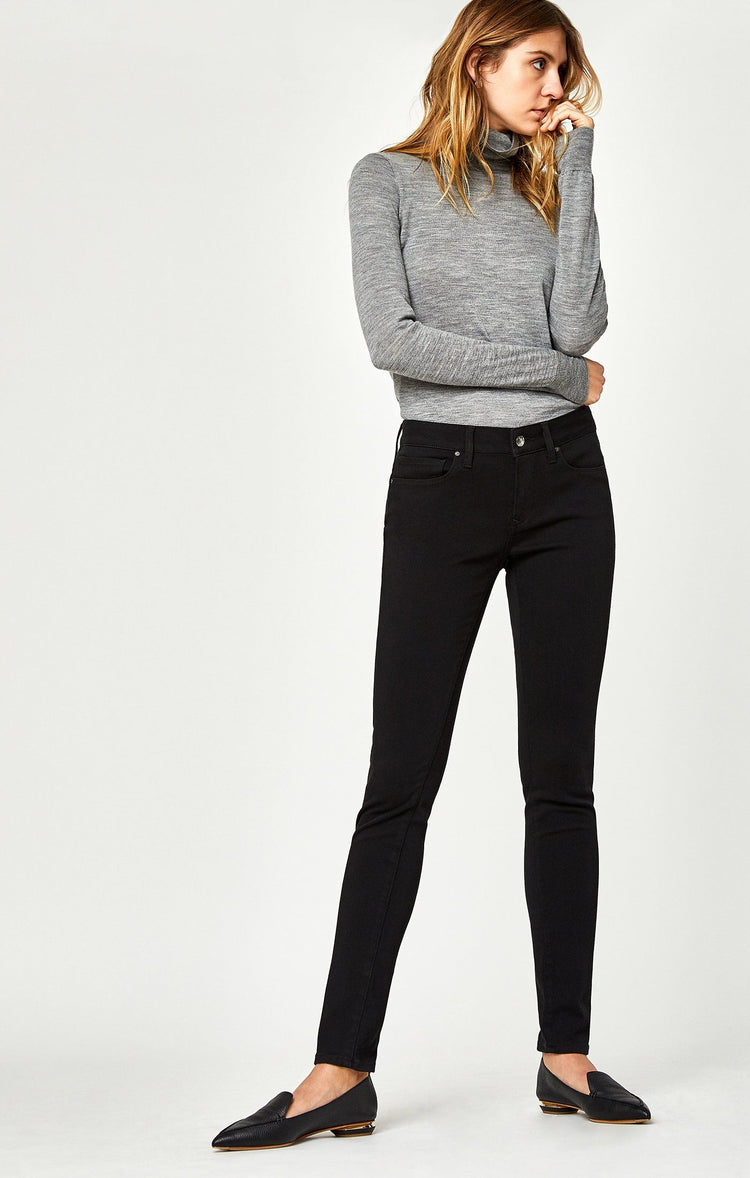 ADRIANA SUPER SKINNY IN DOUBLE BLACK TRIBECA