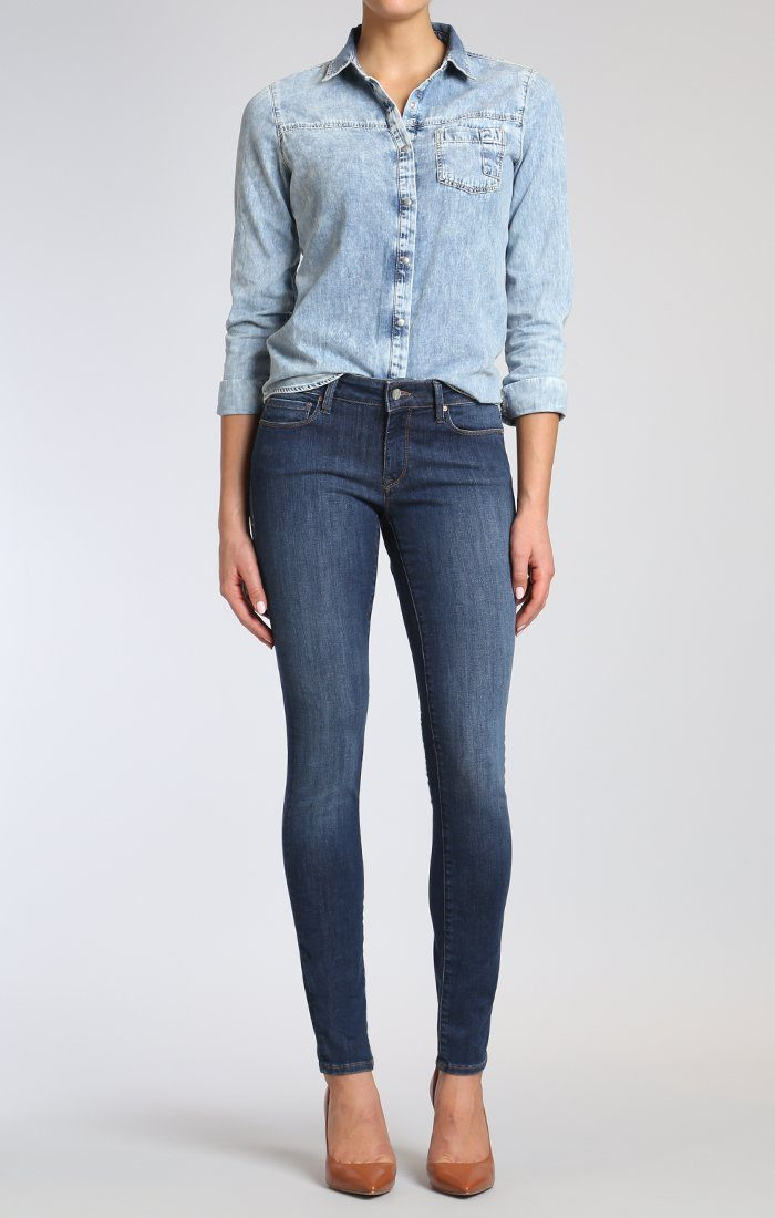 ADRIANA SUPER SKINNY IN DEEP INDIGO TRIBECA