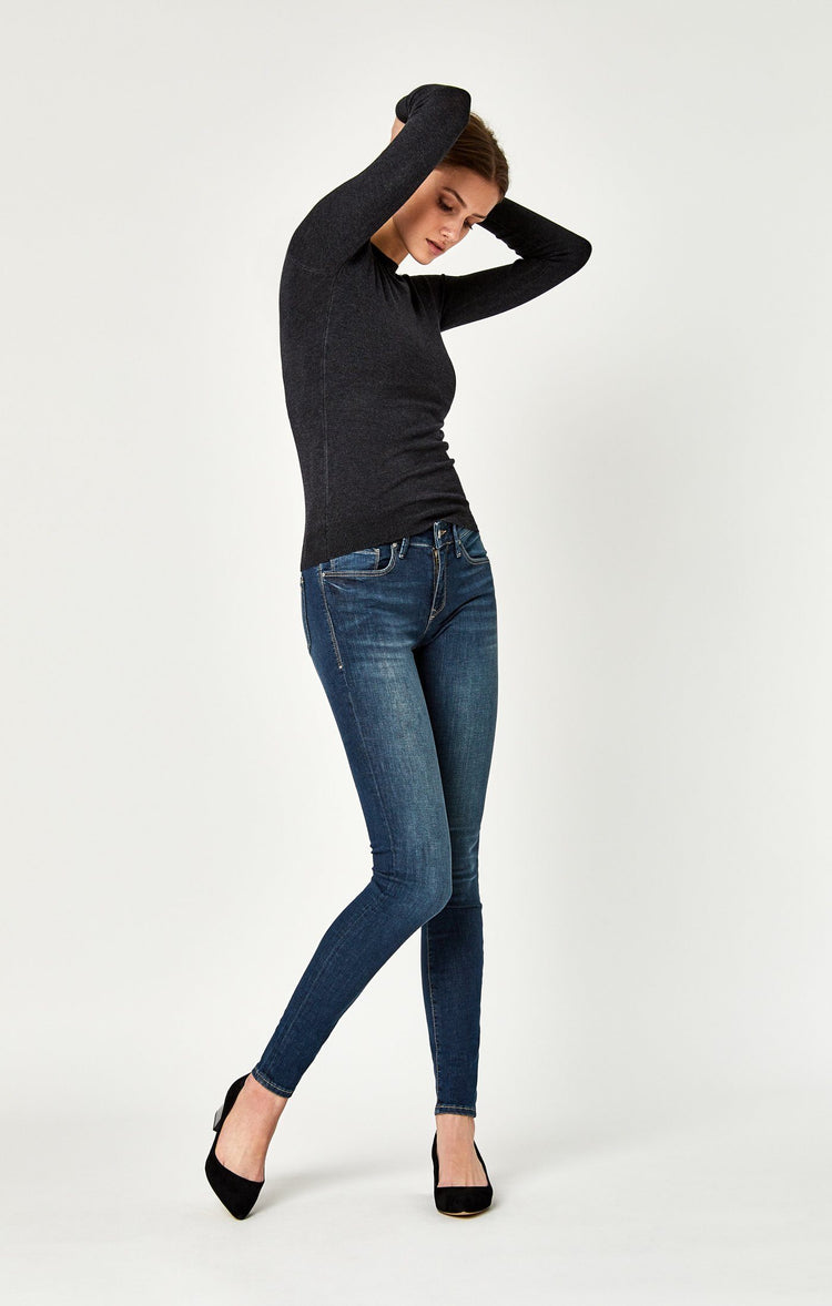 ADRIANA SUPER SKINNY IN SHADED TRIBECA - Mavi Jeans