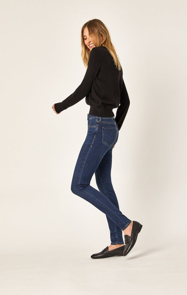 ADRIANA SUPER SKINNY IN DARK STRETCH - Mavi Jeans