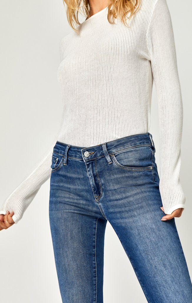 ADRIANA ANKLE SUPER SKINNY IN MID SUPERSOFT - Mavi Jeans