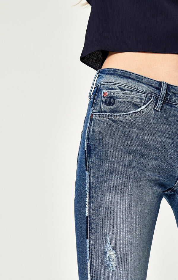 ADRIANA ANKLE SUPER SKINNY IN MID CHEEKY - Mavi Jeans