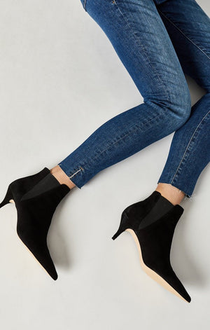 ADRIANA ANKLE SUPER SKINNY IN USED SHADED TRIBECA - Mavi Jeans