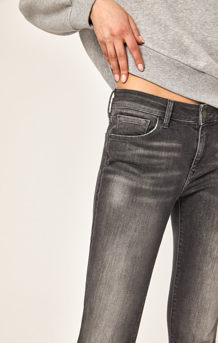 ADRIANA ANKLE SUPER SKINNY IN GREY EVERYDAY TRIBECA - Mavi Jeans