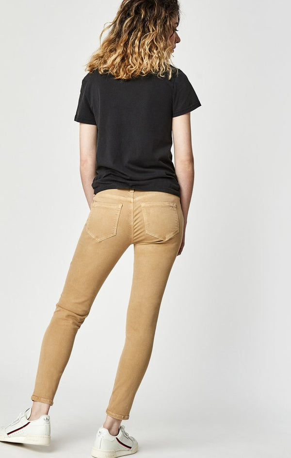 ALEXA ANKLE SKINNY IN IRISH CREAM TWILL - Mavi Jeans