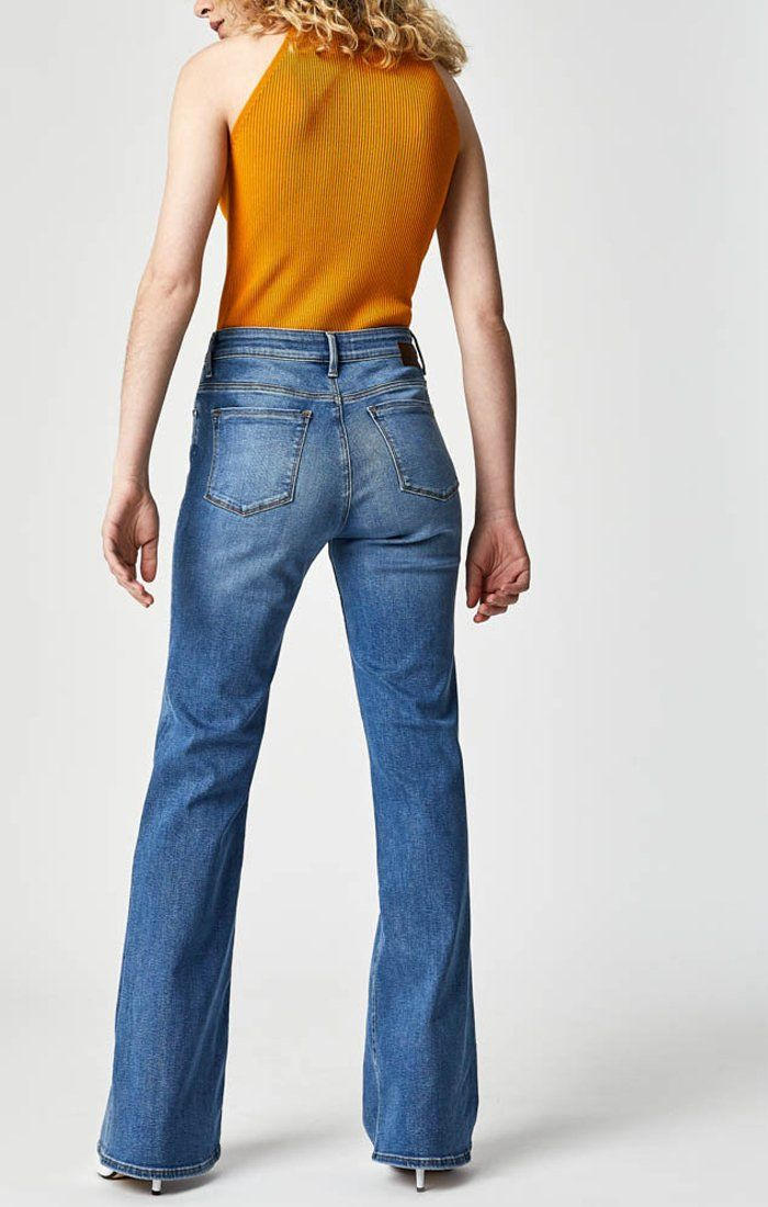 SYDNEY FLARE IN LT BRUSHED SUPERSOFT - Mavi Jeans