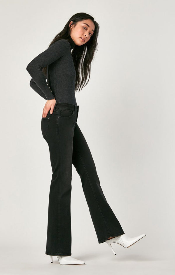 SYDNEY WIDE LEG IN SMOKE SUPERSOFT - Mavi Jeans