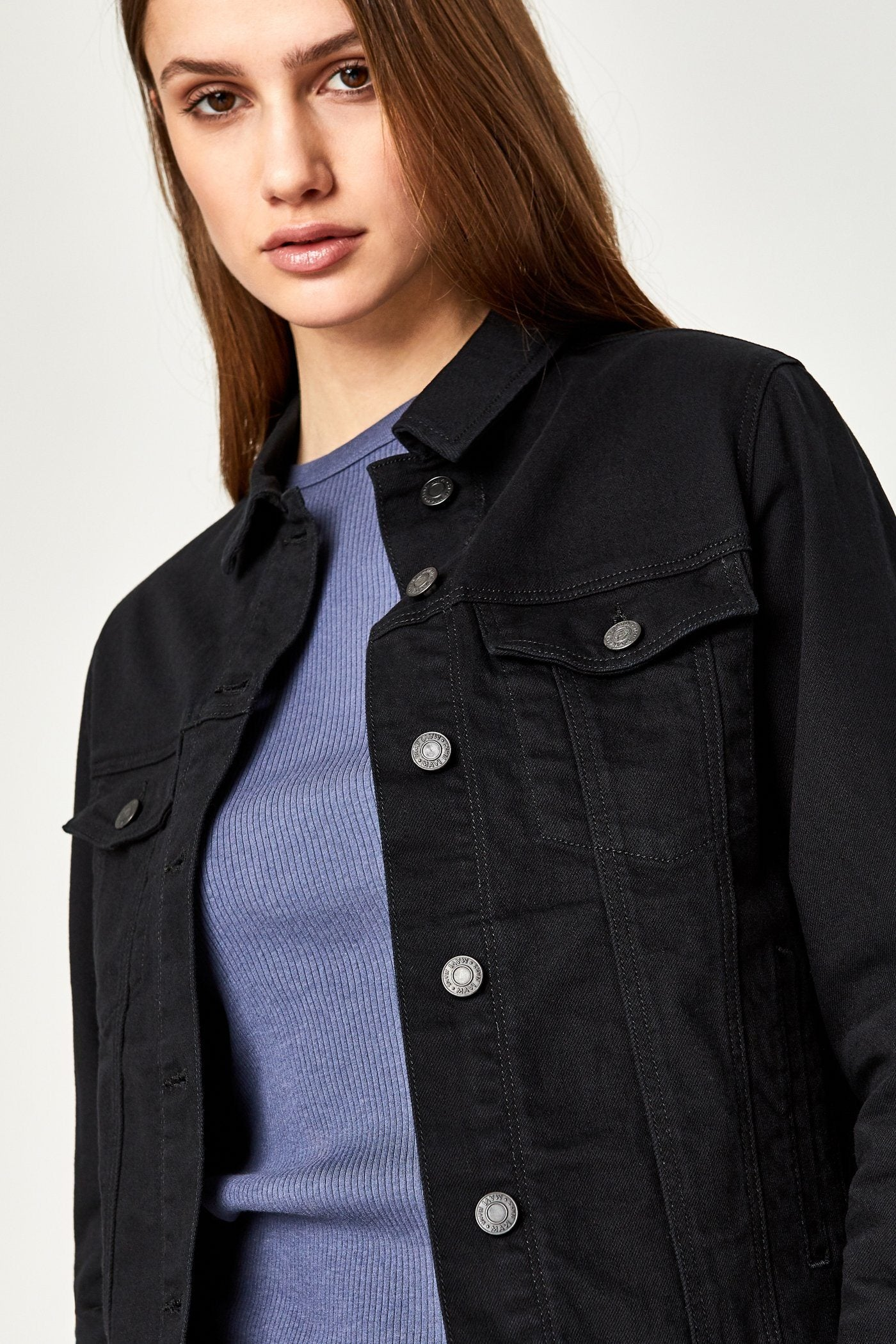 KATY JACKET IN BLACK COMFORT Image 6