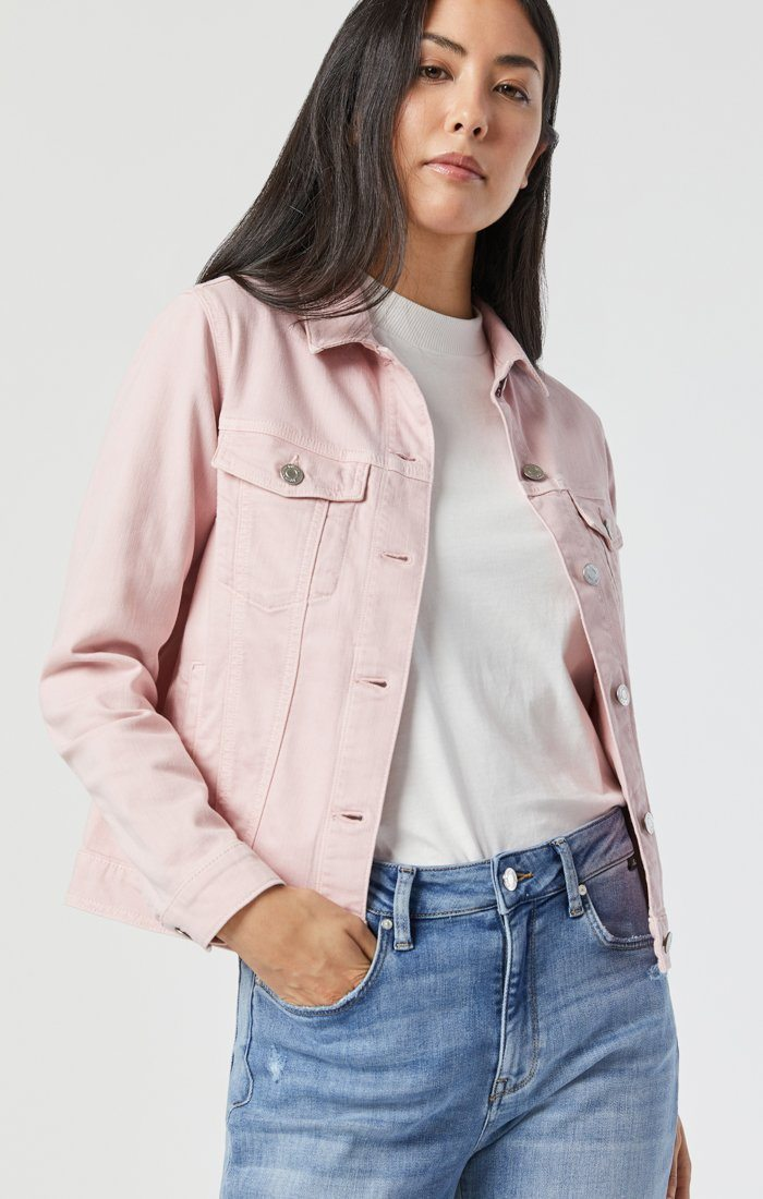 KATY JACKET IN BURNISHED LILAC COMFORT Image 4