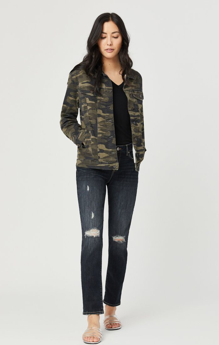 KARLA JACKET IN MILITARY CAMOUFLAGE Image 4