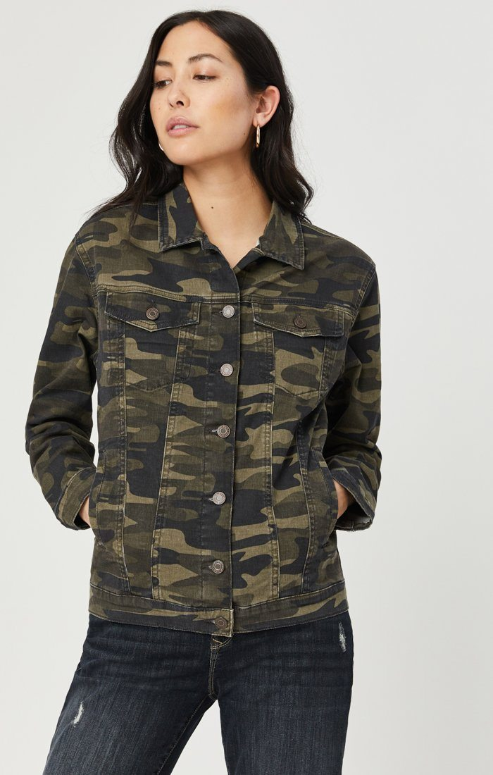 KARLA JACKET IN MILITARY CAMOUFLAGE Image 5