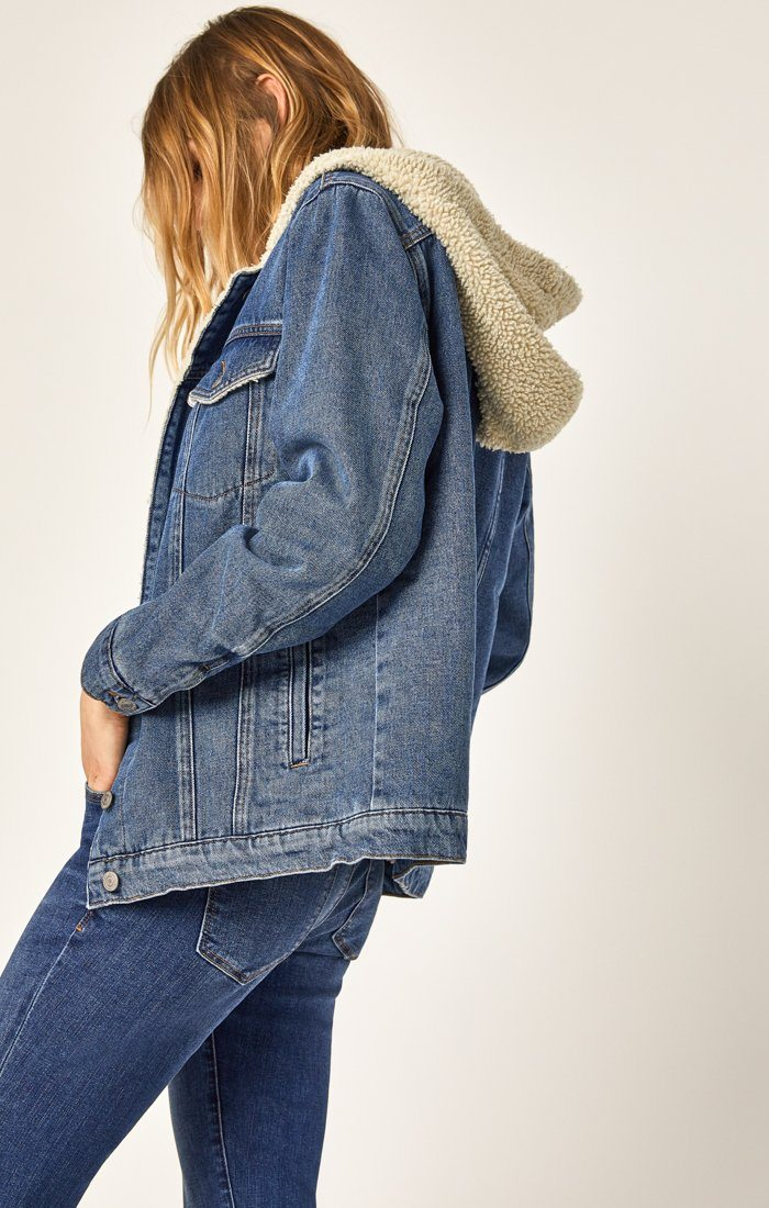 MINA JACKET IN MID DENIM - Mavi Jeans