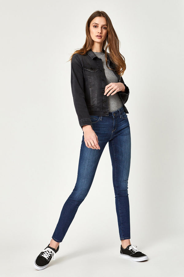SAMANTHA JACKET IN DARK SMOKE SUPERSOFT - Mavi Jeans