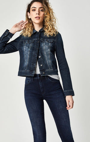 SAMANTHA JACKET IN DEEP INK VINTAGE - Mavi Jeans