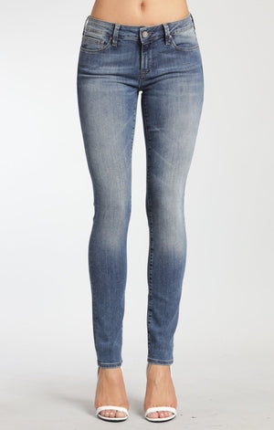 ADRIANA SUPER SKINNY IN USED TRIBECA - Mavi Jeans