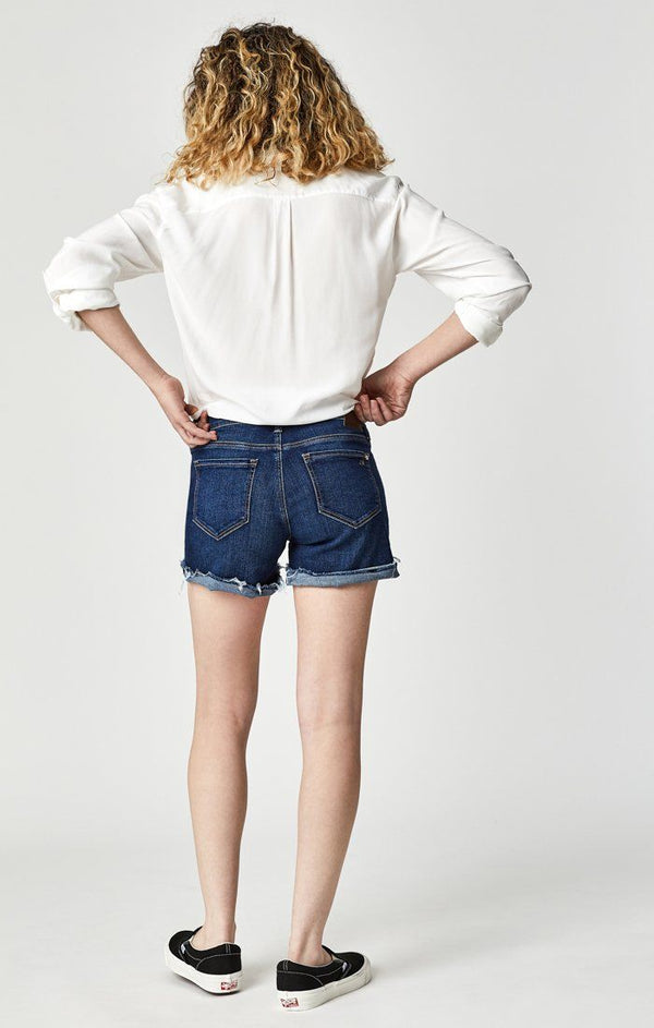 VANNA SHORTS IN DEEP BLUE TRIBECA - Mavi Jeans