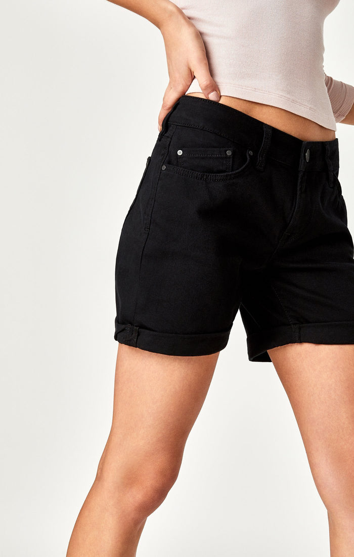 PIXIE SHORTS IN BLACK NOLITA - Mavi Jeans