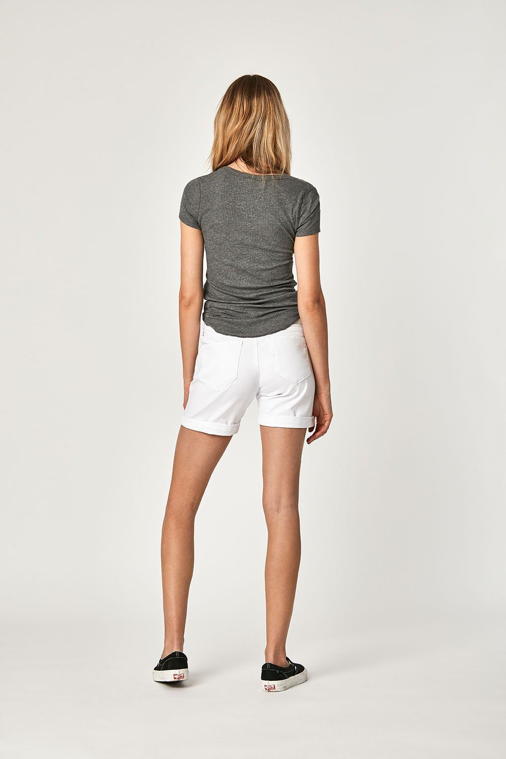 PIXIE SHORTS IN WHITE TRIBECA Image 5