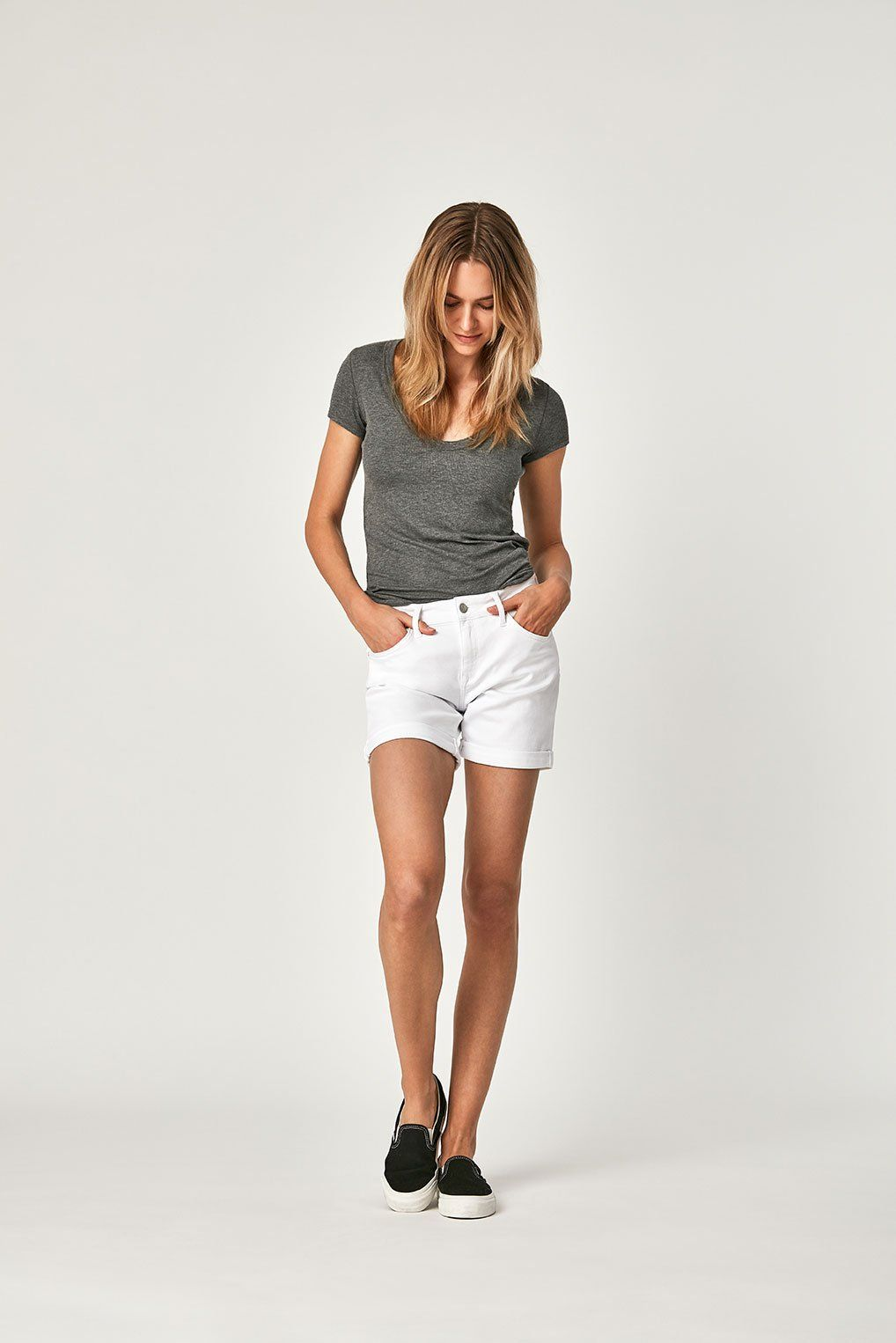 PIXIE SHORTS IN WHITE TRIBECA Image 1