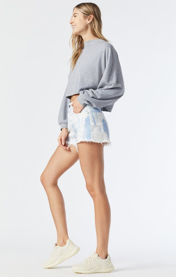 ROSIE BOYFRIEND SHORT IN TIE DIE STRETCH Image 3