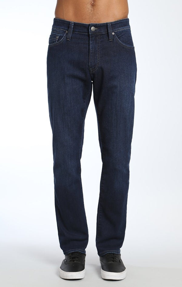MYLES STRAIGHT LEG IN DEEP CLEAN COMFORT - Mavi Jeans