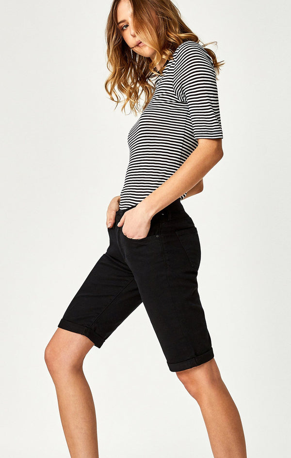 KARLY SHORTS IN BLACK NOLITA - Mavi Jeans