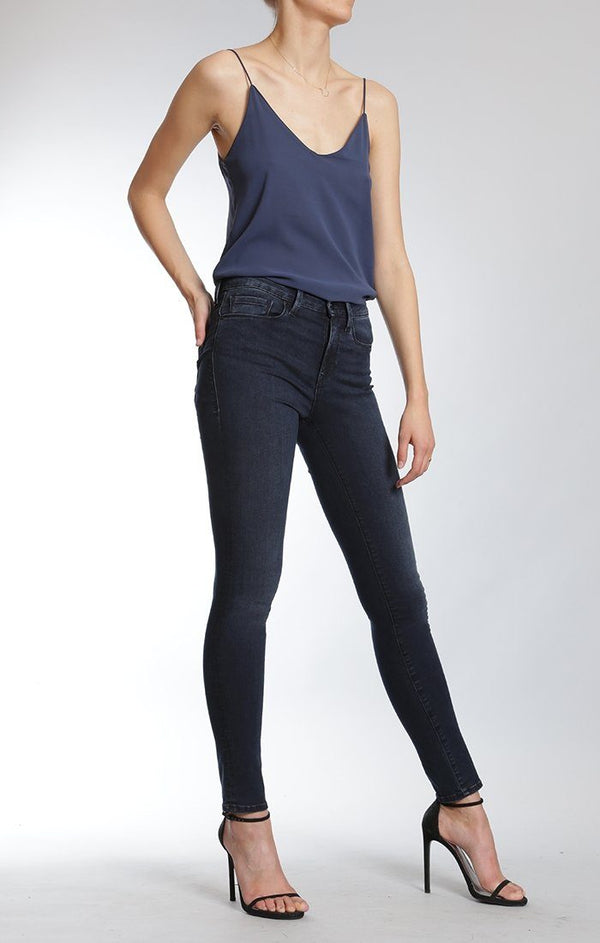 ALISSA SUPER SKINNY IN OVERNIGHT TRIBECA - Mavi Jeans