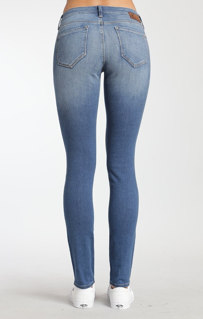 ADRIANA SUPER SKINNY IN MID USED TRIBECA - Mavi Jeans
