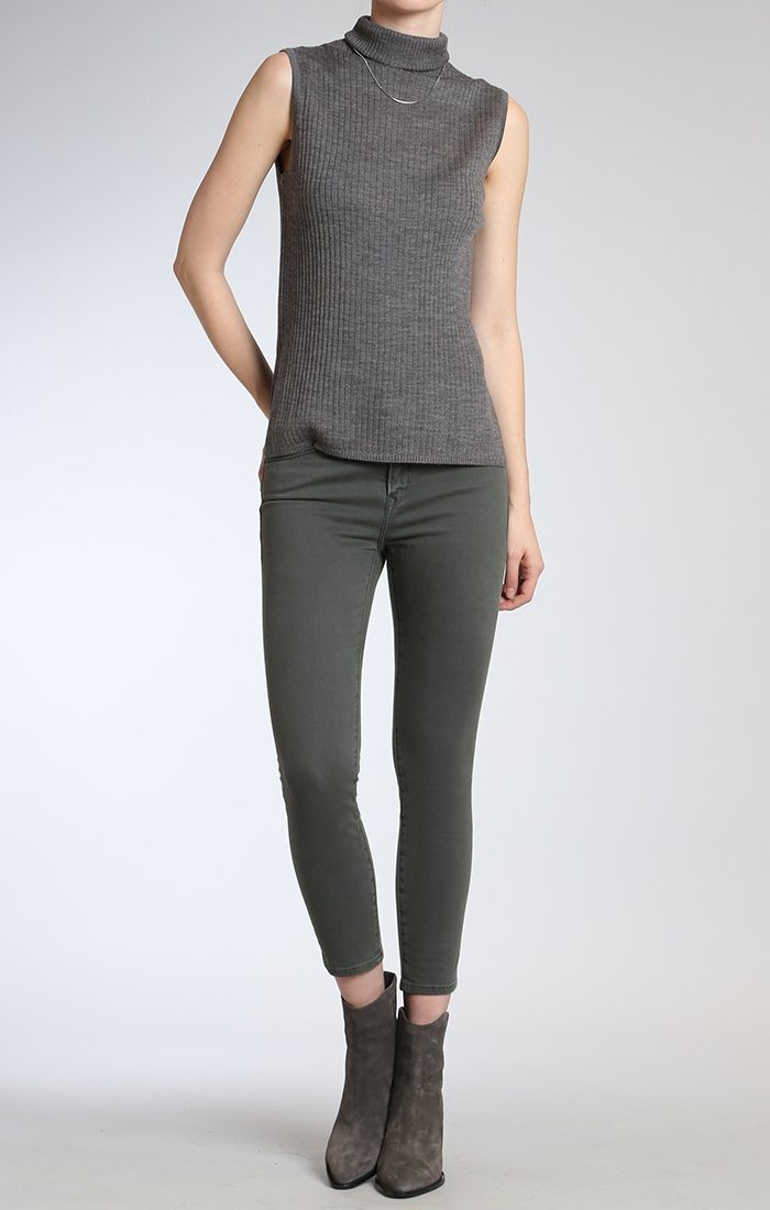 TESS SUPER SKINNY IN URBAN GREEN