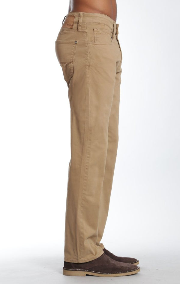 MYLES STRAIGHT LEG IN BRITISH KHAKI TWILL - Mavi Jeans
